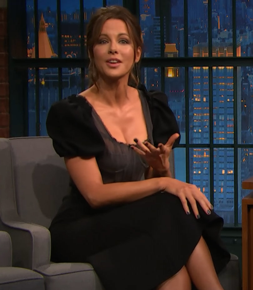 Kate Beckinsale Dishes on Her Penis Art Obsession--Watch Now!