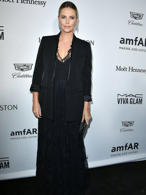 "Charlize Theron Says She's ""Very Fat Right Now"""