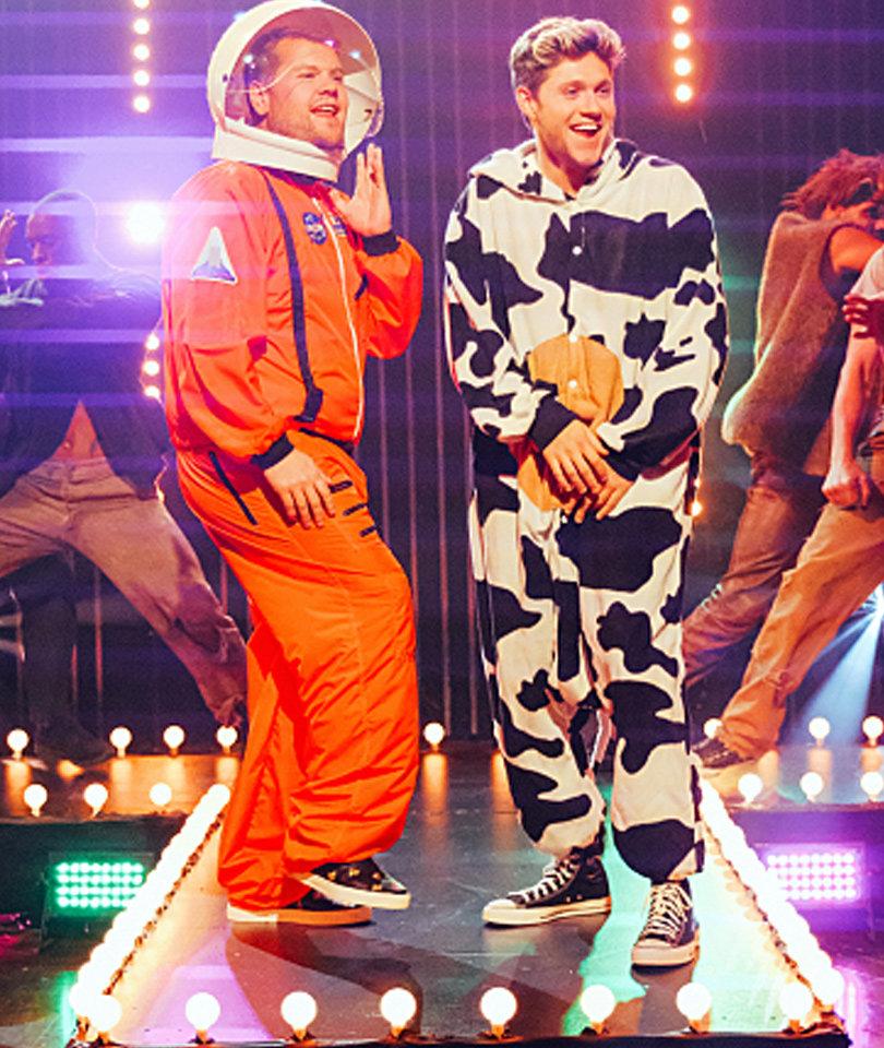 """Watch Corden & Horan's Halloween Parody of Genuwine's """"Pony"""""""