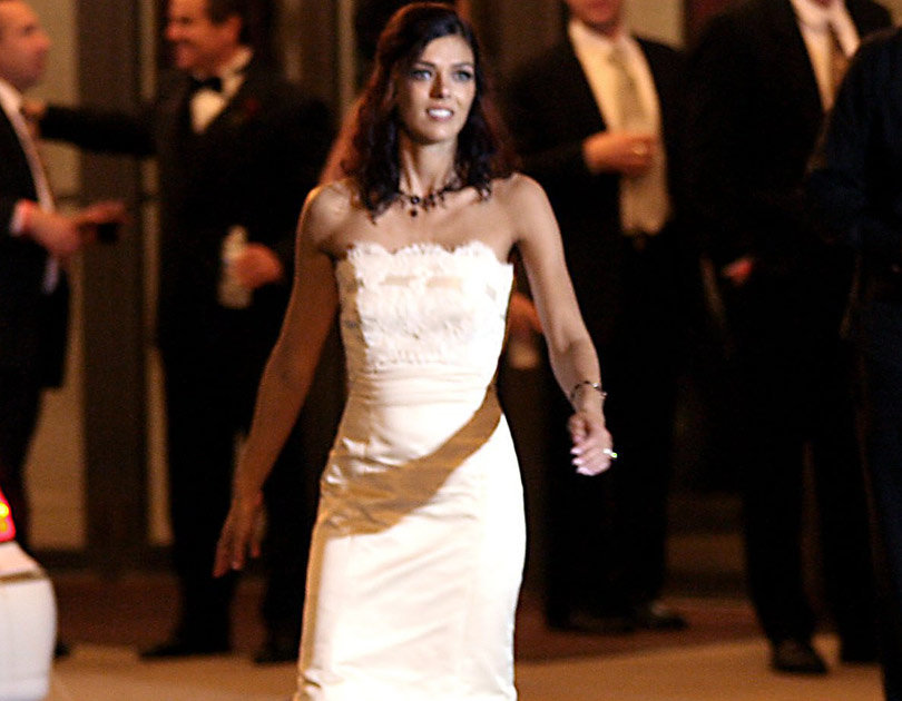 Adrianne Curry Is Auctioning Off Her Wedding Dress From