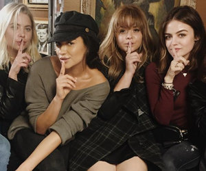 """Pretty Little Liars"" Cast Gets Matching Tattoos After Wrapping Filming"