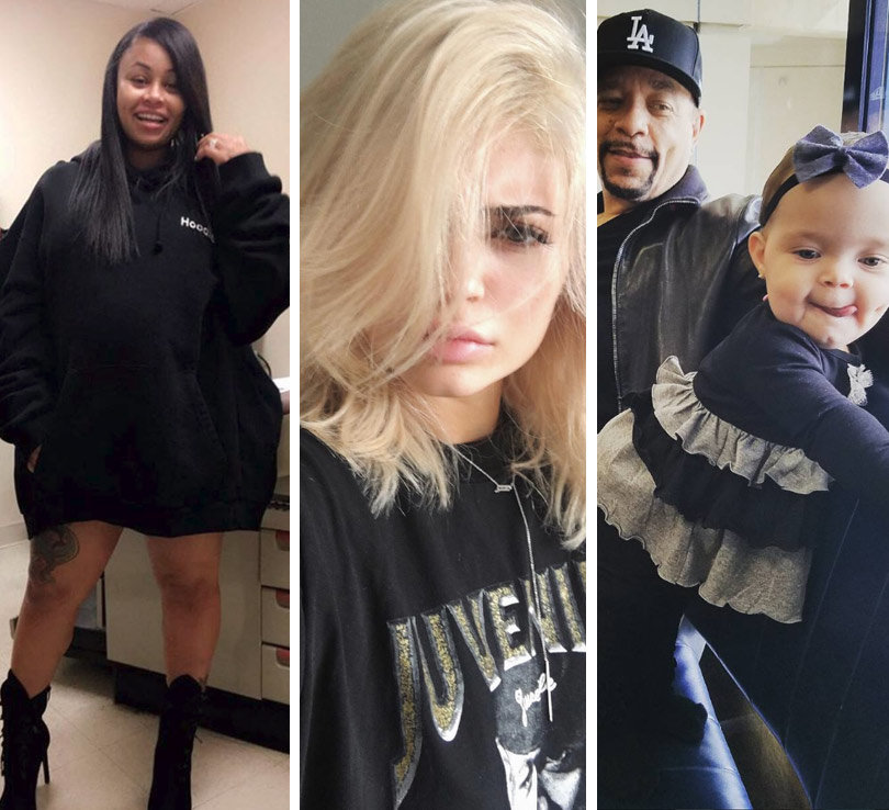 Blac Chyna, Kylie Jenner, Ice-T & More -- See This Week's Best Celebrity Selfies!