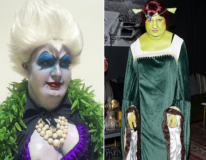 Colton Haynes Transformation to DDD Miss Piggy