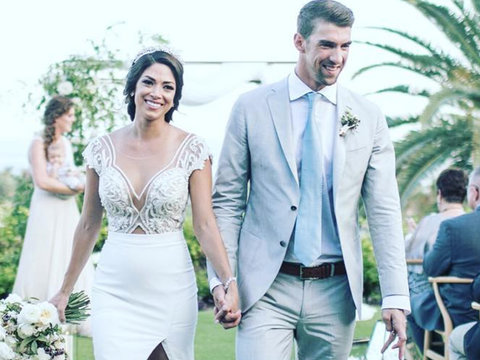 Nicole Johnson Looked Gorgeous In Her Stunning Wedding Gown