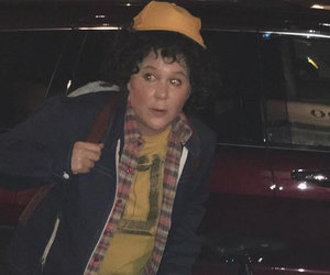 """Amy Schumer's """"Stranger Things"""" Couple's Costume with Ben Hanisch Is Everything"""