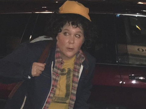 "Amy Schumer's ""Stranger Things"" Couple's Costume with Ben Hanisch Is Everything"