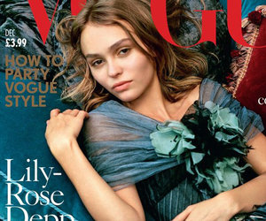 Lily-Rose Depp Snags Her First Vogue Cover!