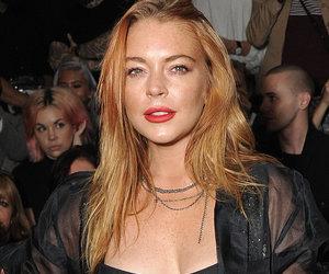 "Lindsay Lohan Strips to Bra & Panties for Bizarre Halloween ""Costume"""