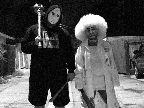 "Rob & Blac Chyna's ""Purge"" Costumes Are Totally Freaky"