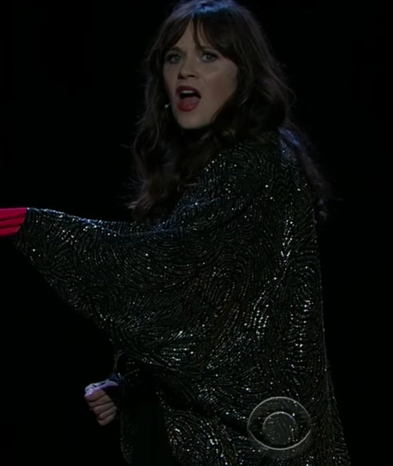 Zooey Deschanel and James Corden Sing Lionel Richie Parody