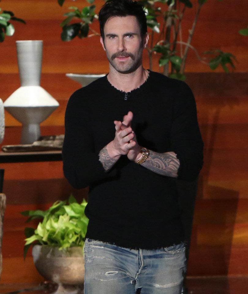 See How Ellen DeGeneres Helped Adam Levine Name His Baby Girl!