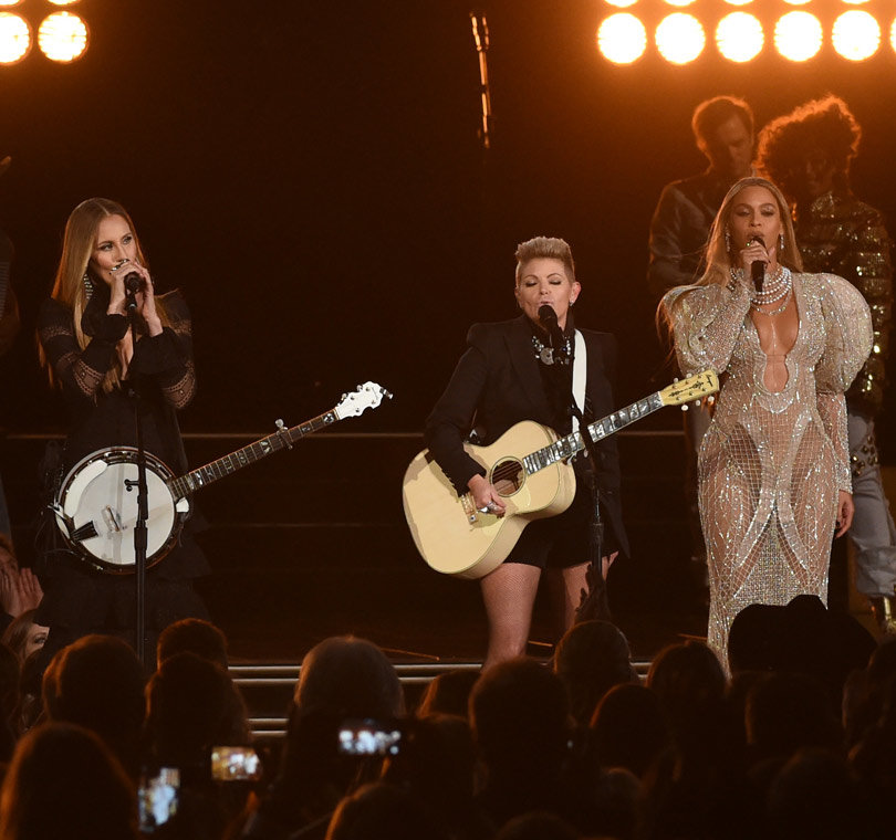 Beyoncé & The Dixie Chicks Lit Up the CMAs, But Not Everyone Was Happy About It