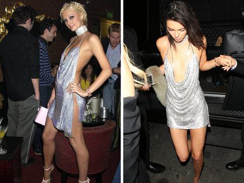 Kendall Jenner vs Paris Hilton