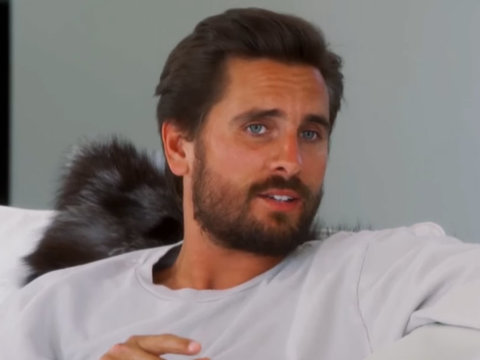 "Kim & Kourtney Call Out Scott for Being a ""Cougar Stalker"""