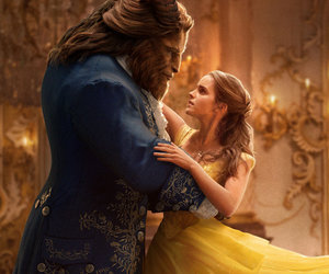 "That Dress! Emma Watson Stuns In New ""Beauty & The Beast"" Pics"