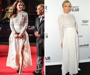 Kate Middleton vs, Paris Hilton