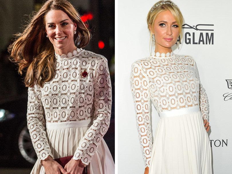 Kate Middleton Wears Same Dress as Paris -- One Week Later!