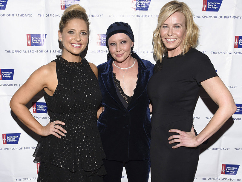 Shannen Doherty Honored at American Cancer Society Gala