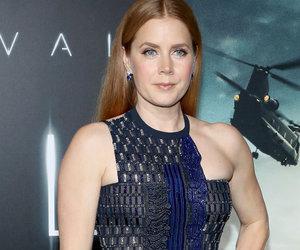 "Amy Adams Rocks Metallic Versace Dress to L.A. ""Arrival"" Premiere"