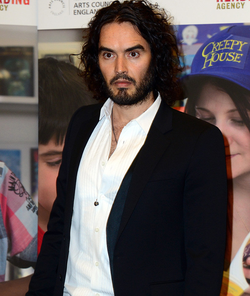 Russell Brand Welcomes First Baby with Fiancé Laura Gallacher