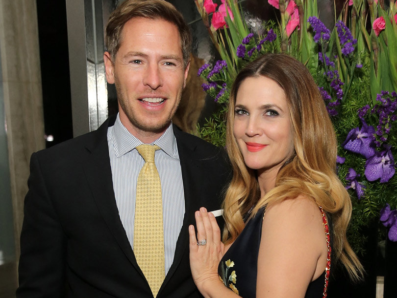 Drew Barrymore Supports Ex-Husband at NY Marathon with the Kids