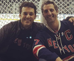 """Wonder Years"" Reunion! Savage & Saviano Hang Out In NYC"
