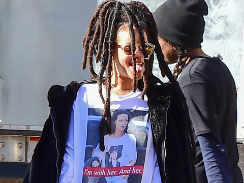 Rihanna's Election Day Style Is As Meta As It Gets!