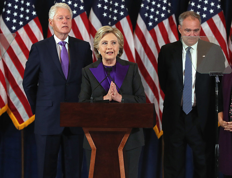 Hillary Clinton Gives Concession Speech: We Owe Donald Trump an Open Mind & Chance to Lead