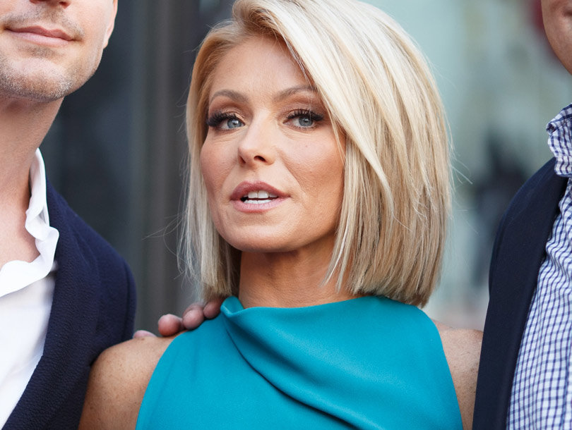 """Kelly Ripa Opens Up About Getting Very """"Bad Botox"""""""