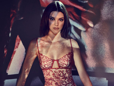 Kendall Jenner Strips Down to Lingerie for La Perla Campaign