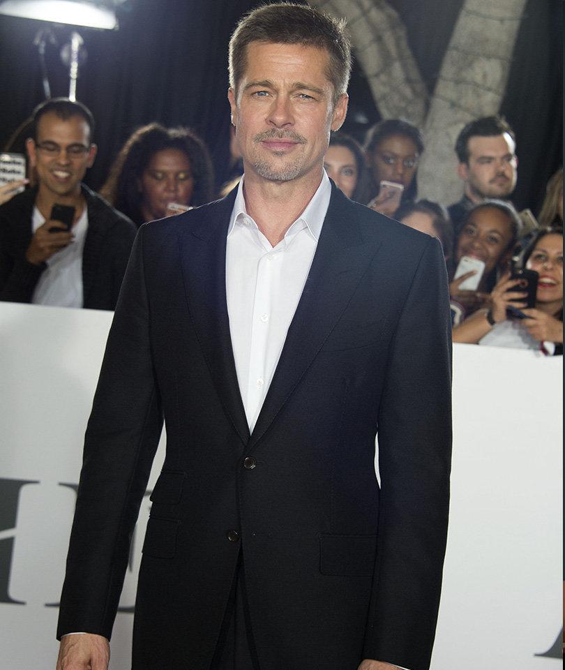 Brad Pitt Breaks Silence at First Red Carpet Event Since Jolie Split