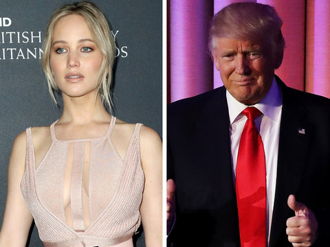 J-Law on Donald Trump Victory: Don't Be Afraid, Be Loud!