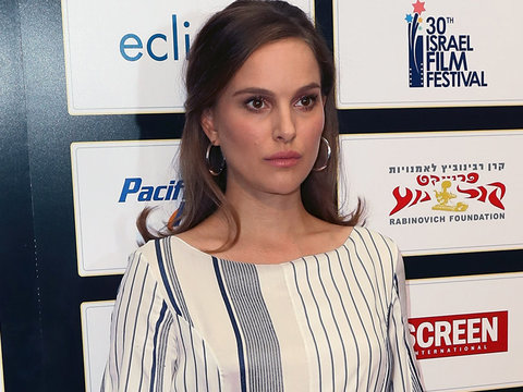 Natalie Portman Flaunts Growing Bump at Israel Film Festival