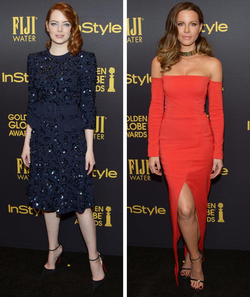 Emma Stone, Kate Beckinsale & More Celebrate Golden Globes