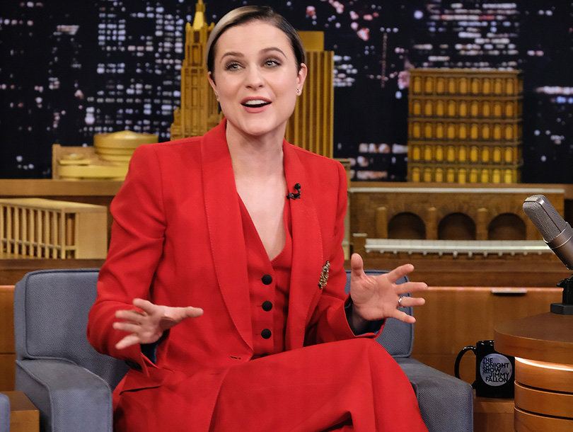 Evan Rachel Wood Reflects on Getting Naked with Chris Evans