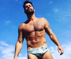 Ricky Martin's Hot Bod, Baby Dream & More Must-See Selfies!