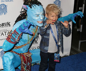 "Fergie & Josh Duhamel's Son Steals the Show at Cirque du Soleil's ""Toruk!"""
