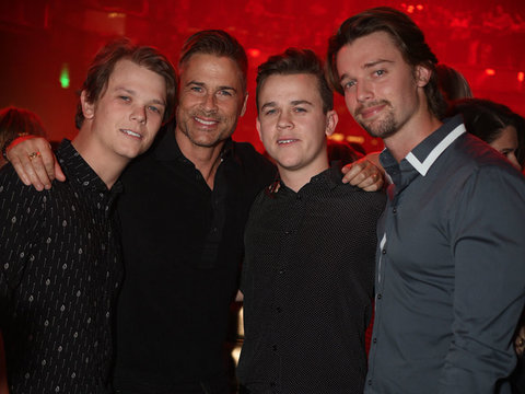 Rob Lowe Celebrates His Son's 21st Birthday In Las Vegas