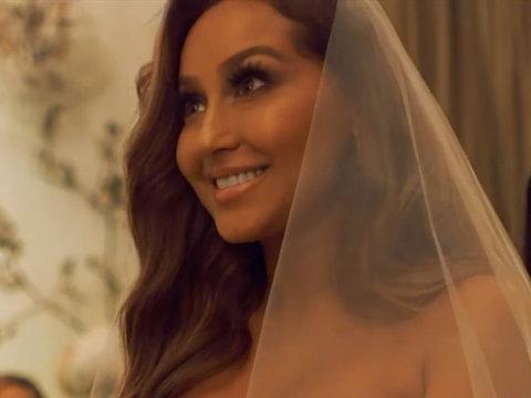 Inside Adrienne Bailon's Wedding: See the Dress, Cake & More!