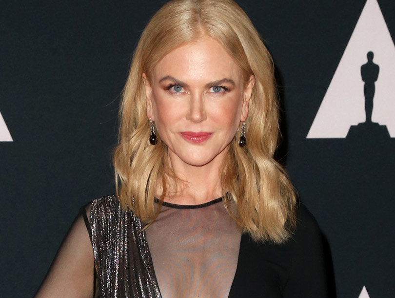 Nicole Kidman Takes the Plunge at Governors Awards