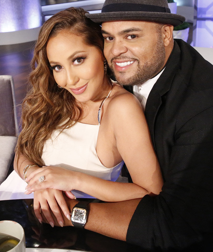 See How Adrienne Bailon Surprised Husband on Their Wedding Night ... Before Their First Time!