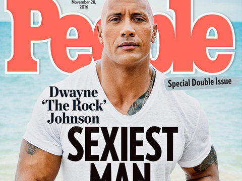 "Dwayne ""The Rock"" Johnson Named Sexiest Man Alive"