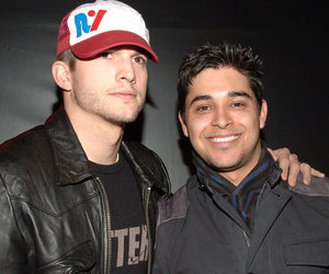 "Wilmer Valderrama Says Ashton Kutcher Was ""Built"" to Have a Son"