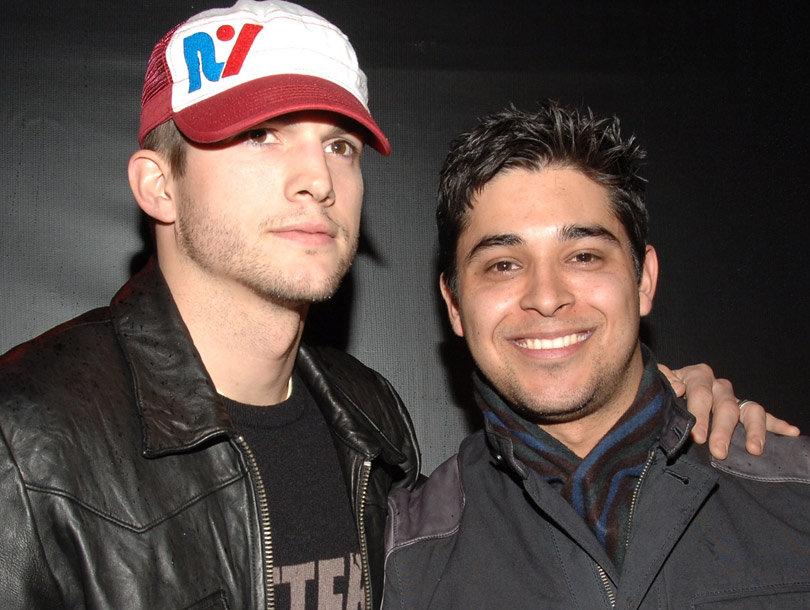 "Wilmer Valderrama Says Ashton Kutcher Was ""Built"" to Have a Son"