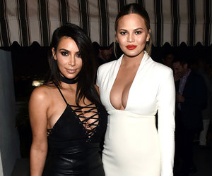"Chrissy Teigen Says She'd Be Kim's Surrogate ""In a Heartbeat"""