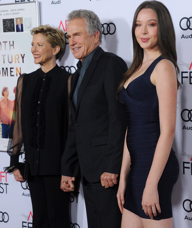 Annette Bening & Warren Beatty's 16-Year-Old Daughter Hits ...