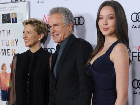Annette Bening & Warren Beatty's Daughter Steps Out Before Debutante Ball