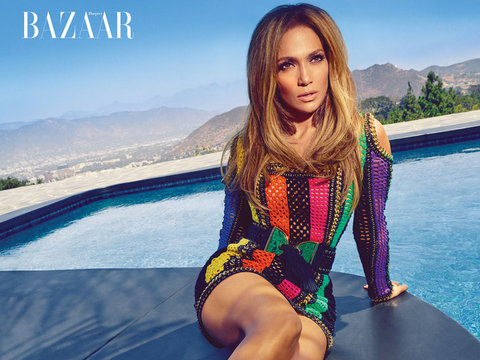 J.Lo Flaunts Booty, Talks Daughter's Love of Fashion