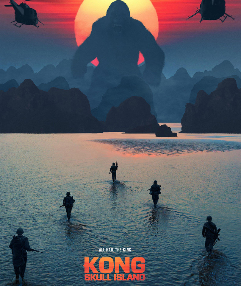 """Kong: Skull Island"" Trailer Brings Animal Action, Creepy Creatures"