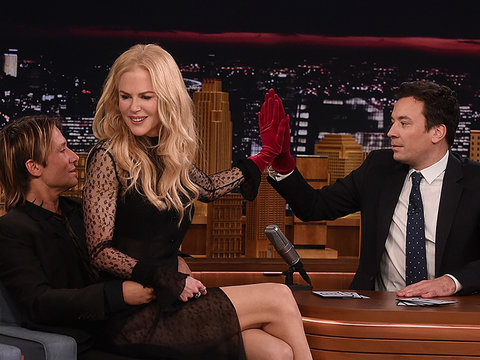 How Jimmy Fallon Blew His Chance to Date Nicole Kidman ... Twice!